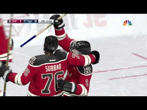 NHL® 16 Stat Finishes A Nice Outlet from Viz