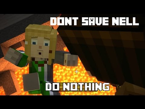 Don't Save Nell (Do Nothing) - Minecraft Story Mode Episode 8