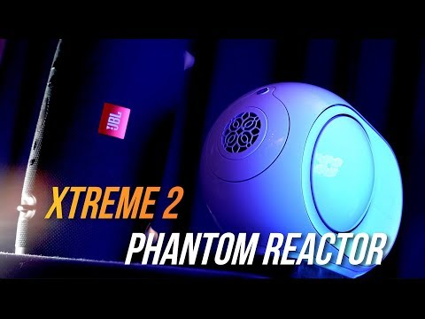 Devialet Phantom Reactor vs JBL XTREME 2 BASS Test and Review