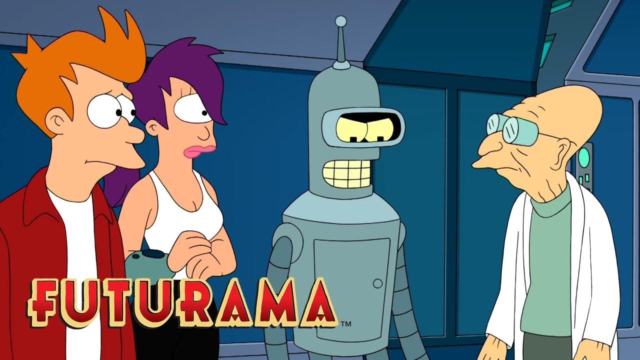 FUTURAMA | Season 10, Episode 11: Alien Versus Friendship | SYFY ...