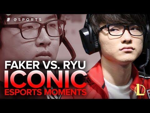ICONIC Esports Moments: Faker vs. Ryu - SKT T1 K vs. KT B, HOT6iX 2013 Summer Finals (LoL)