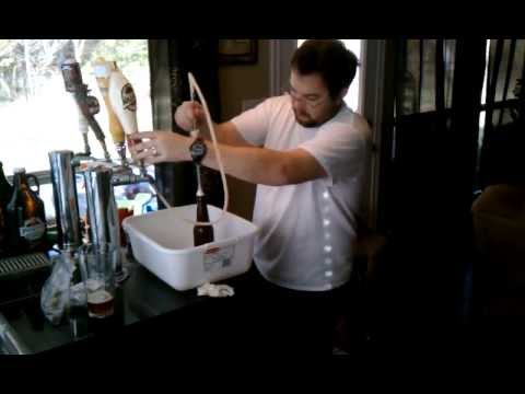 Bottling Beer From The Keg W Bowie Bottle Filler Youtube