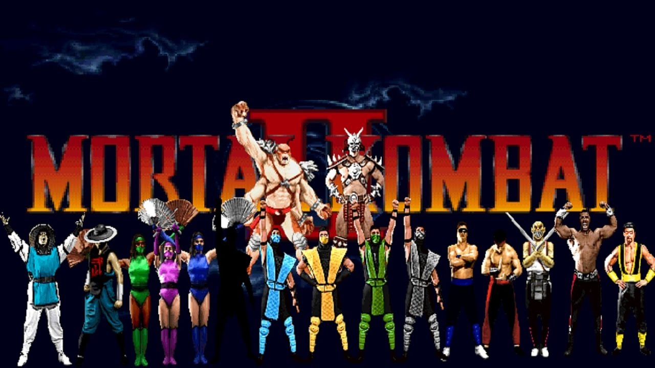 Image result for mortal kombat 2