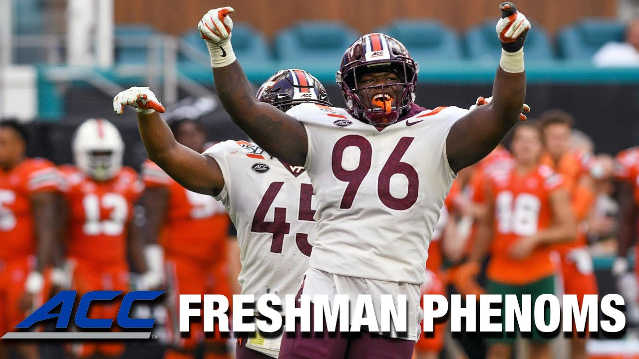 Virginia Tech DL Norell Pollard | ACC Football Freshman Phenoms
