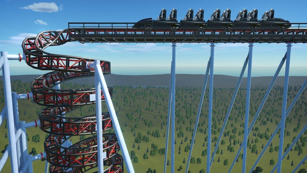 Erstellen Sie eine Achterbahn, die im Planet Coaster buchstäblich Ihre Wirbelsäule einrastet + video