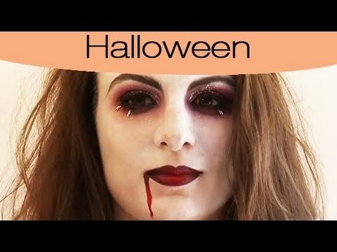 halloween maquillage de vampire youtube. Black Bedroom Furniture Sets. Home Design Ideas