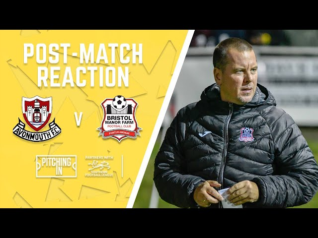 Official BMF TV: Lashenko after Avonmouth friendly win (11/07/21)