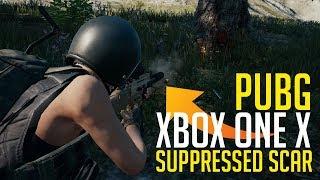 Suppressor + Scar = Tactical Ninja - PUBG Xbox One X