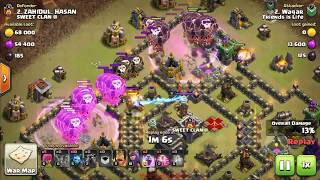 BALOON BEST FUNNY TH9 BASE MAX ATTAKS CLASH OF CLAN GAMEPLAY BEST GAME KILLER UNITE STATE