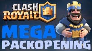 MEGA PACK OPENING! - VEEL KISTEN - Clash Royale [#2]