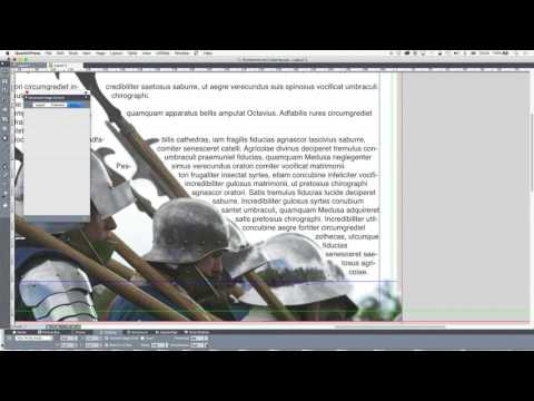 20 - DTP with QuarkXPress: Runaround and clipping