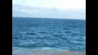 HAVANA - CUBA, MAR AZUL MUITO LINDO.
