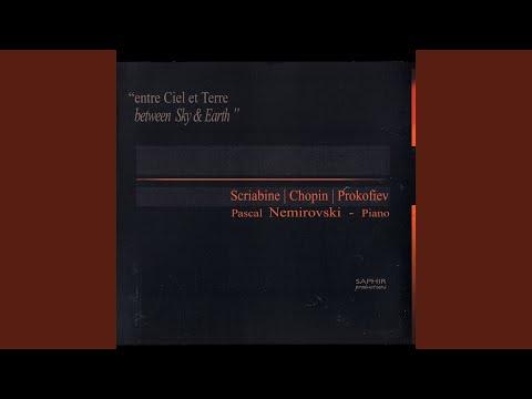 Etude Op. 8, N° 11 Andante (Alexandre Scriabine)