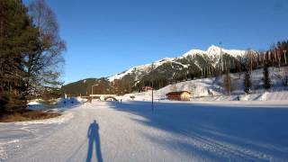 Тест видео Canon PowerShot S120. Путешествие по Австрии. Зеефельд. Активный отдых на лыжах.(, 2014-03-17T01:36:47.000Z)