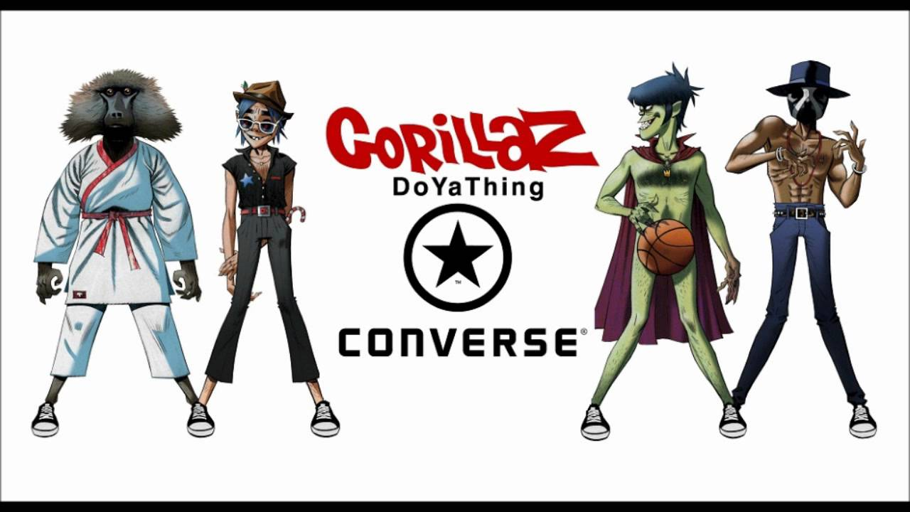 Gorillaz - Do Ya Thing & Andre 3000 And James Murphy (Converse) Free ...