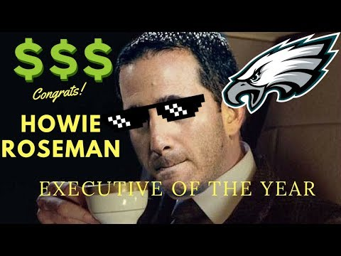 PFWA Votes HOWIE ROSEMAN As 2017 Executive Of The Year!