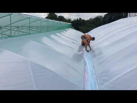Фермерская блочная теплица ширина 20м, длина 50м