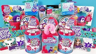 LITTLEST PET SHOP Mix! МЕГА ВИПУСК СЮРПРИЗИ іграшки в консервних банках ЗООМАГАЗИН Surprise unboxing