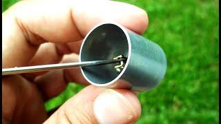 Novo pistão frio para motor Stirling caseiro - New cold piston, Stirling engine