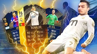 RONALDO 96 & MESSI TOTY - COPPIA INFERMABILE!!! [FIFA 18 Draft]