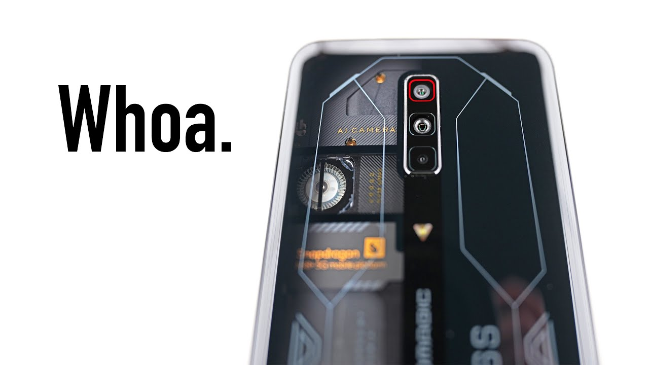 The TRANSPARENT Smartphone is HERE...