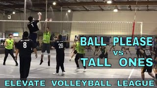 Ball Please vs Tall Ones - EVL #2, Playoffs - Match 2 (Elevate Volleyball League 2018)