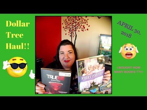New Dollar Tree Haul # 7| HBO True Blood Recipe Book Mp3