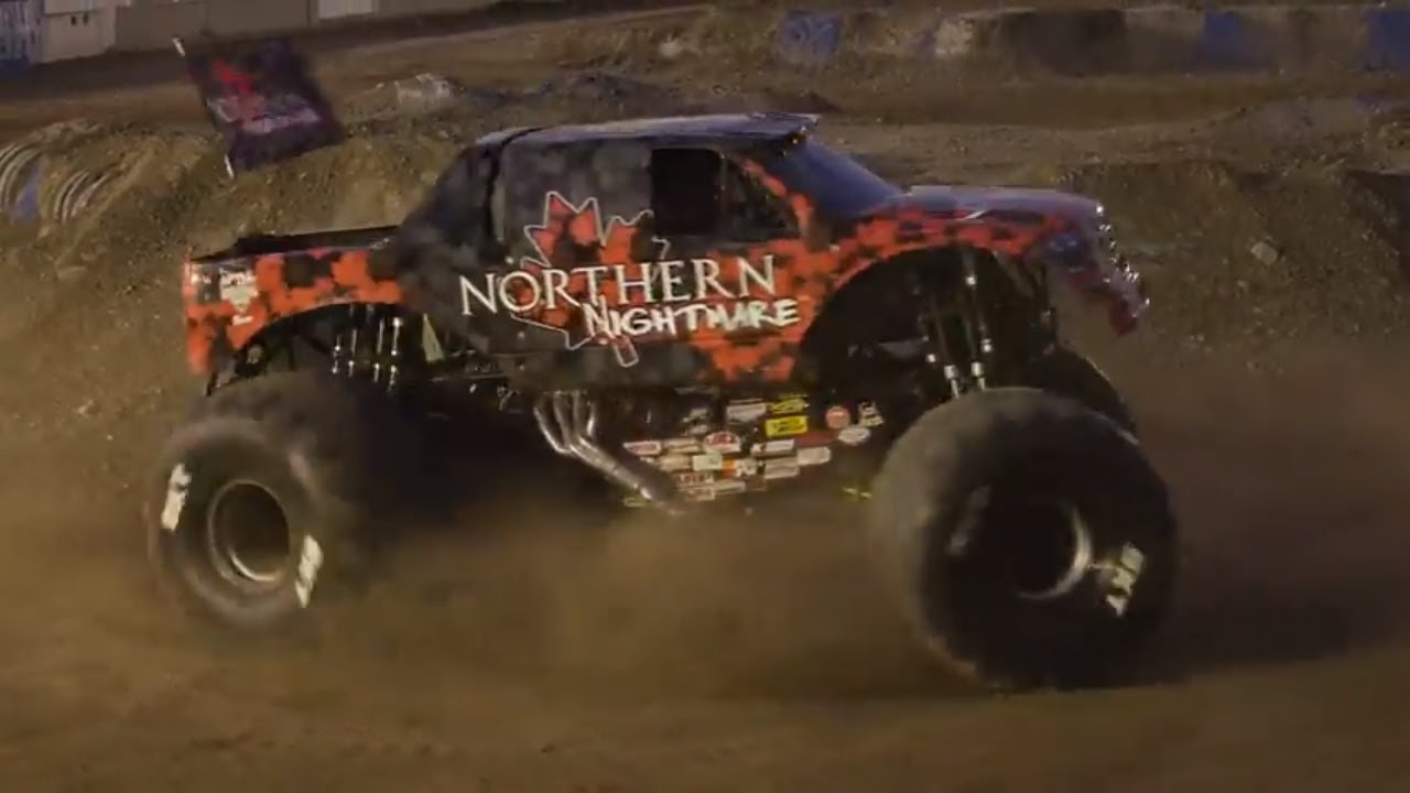Northern Nightmare S Epic Donuts Calgary │ Monster Jam