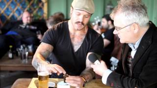 How to smoke a tobacco pipe - Prince of Wales pub, Moseley, Birmingham - Sat 22nd June 2013