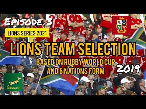 British & Irish Lions - SA Tour - Team Selection V2019 (Ep.3) #Rugby #Springboks #LionsTour