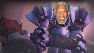 Overwatch: Morgan Freemans Massive Hammer
