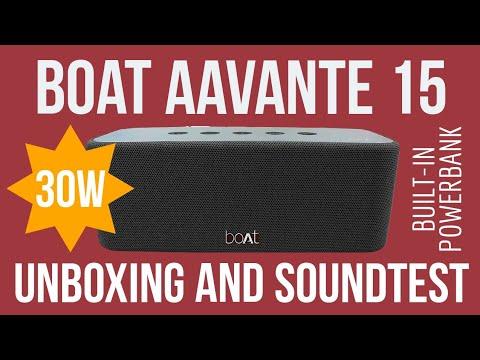 Boat Aavante 15 30w Bluetooth Speaker Unboxing And Soundtest Budget Bluetooth Speaker Under 10k Youtube