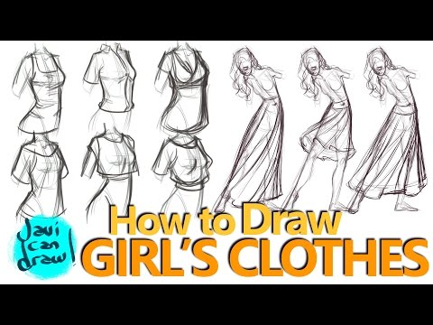 How Taught Myself To Draw Female Clothes