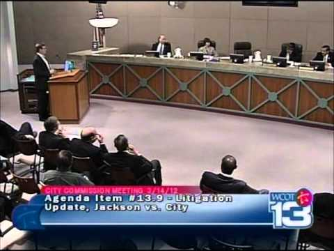 City Attorney Presents Bogus Legal Argument Against Dr. Jackson: Embarrasses Commissioners!