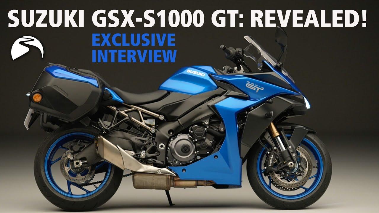 New Suzuki GSX-S1000GT First Look | Exclusive Interview!