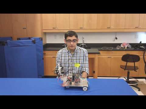 Netanel's Final Video! Gesture Controlled Robot