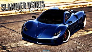 GTA Online | SLAMMED OSIRIS | Stance Showcase | GTA Stanced Cars | Pagani Huayra