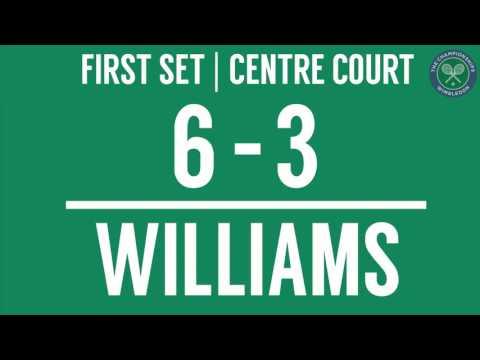 2016, Middle Sunday Highlights, Serena Williams vs Annika Beck