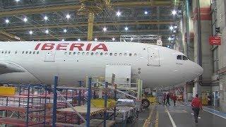 Así es el hangar del aeropuerto de Barajas, uno de los más grandes de Europa