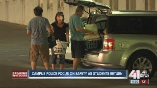 UMKC campus police focus on safety as students return