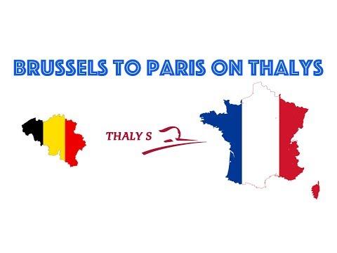 Thalys - Brussels Midi To Paris Gare Du Nord