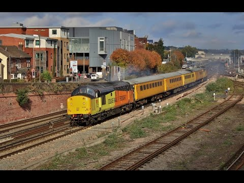 Two days of freight action and loco moves at Eastleigh on 26th and 28th October 2016