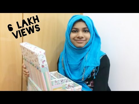 How to make a jewellery box with mirror