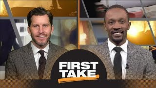 First Take debates who should be the NFL MVP | First Take | ESPN
