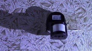 видео Датчик движения, установка и схема подключения, пример включения света