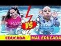 Criança Educada VS Criança Mal Educada - Família MC Divertida
