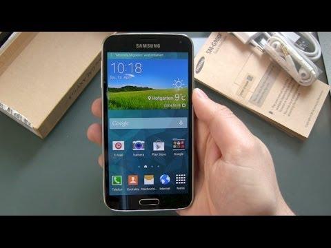 Samsung Galaxy S5 einrichten und erster Eindruck