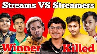 Top 5 PUBG Streamers vs Stream…