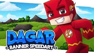 Minecraft SpeedART - Dagar Banner | Eonofre