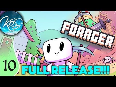 forager-ep-10:-crazy-escalation---final/steam-release!!!---let's-play,-gameplay